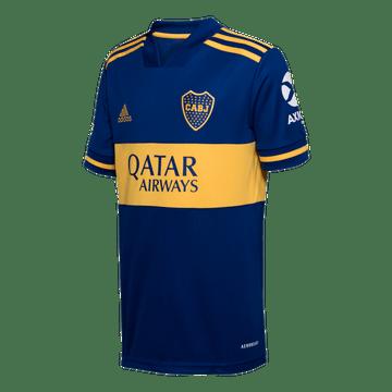 Camiseta-Infantil-Titular-de-Juego-Boca-Jrs-20-21