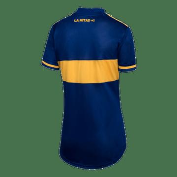 Camiseta-Mujer-Titular-de-Juego-Boca-Jrs-20-21