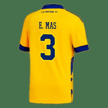 Camiseta-Infantil-3°-Equipacion-de-Juego-Boca-Jrs-20-21-Personalizado---3-E.-MAS