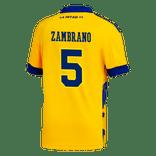 Camiseta-Infantil-3°-Equipacion-de-Juego-Boca-Jrs-20-21-Personalizado---5-ZAMBRANO