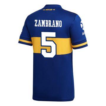 Camiseta-Titular-de-Juego-Boca-Jrs-20-21-Personalizado---5-ZAMBRANO