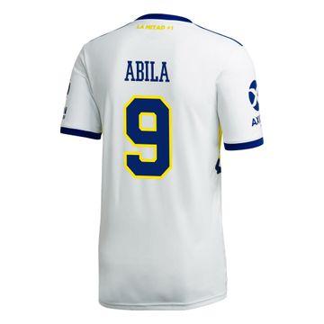 Camiseta-Alternativa-de-Juego-Boca-Jrs-20-21-Personalizado---9-ABILA
