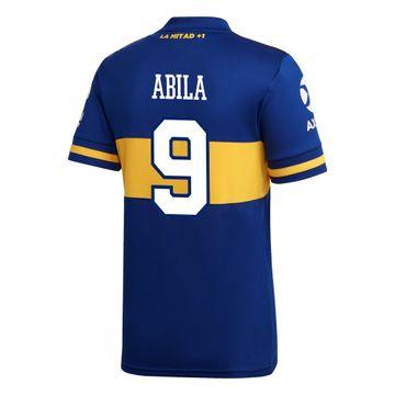 Camiseta-Infantil-Titular-de-Juego-Boca-Jrs-20-21-Personalizado---9-ABILA