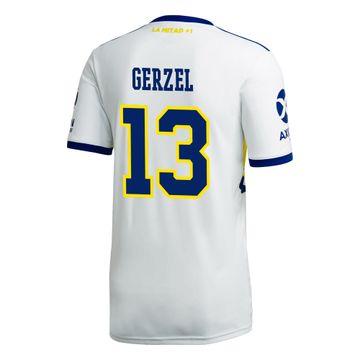 Camiseta-Alternativa-de-Juego-Boca-Jrs-20-21-Personalizado---13-GERZEL