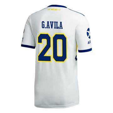 Camiseta-Alternativa-de-Juego-Boca-Jrs-20-21-Personalizado---20-G.-AVILA