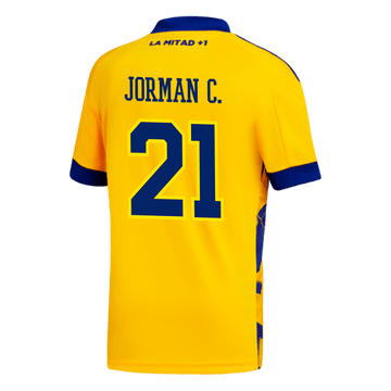 Camiseta-Infantil-3°-Equipacion-de-Juego-Boca-Jrs-20-21-Personalizado---21-JORMAN-C.