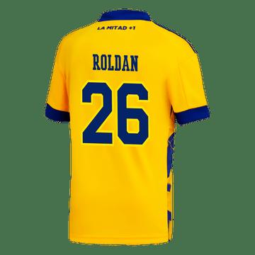 Camiseta-Adidas-3°-Equipacion-de-Juego-Boca-Jrs-20-21-Personalizado---26-ROLDAN