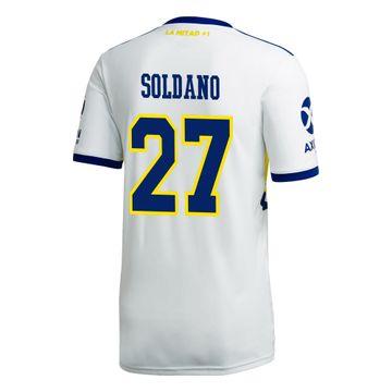Camiseta-Alternativa-de-Juego-Boca-Jrs-20-21-Personalizado---27-SOLDANO