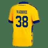 Camiseta-Adidas-3°-Equipacion-de-Juego-Boca-Jrs-20-21-Personalizado---38-VAZQUEZ