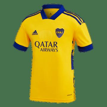 Camiseta-Infantil-3°-Equipacion-de-Juego-Boca-Jrs-20-21-Personalizado---11-SALVIO