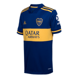 Camiseta-Infantil-Titular-de-Juego-Boca-Jrs-20-21-Personalizado---20-G.-AVILA