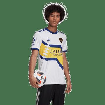 Camiseta-Alternativa-de-Juego-Boca-Jrs-20-21-Personalizado---29-L.-JARA
