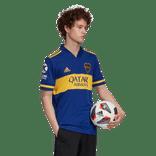 Camiseta-Titular-de-Juego-Boca-Jrs-20-21-Personalizado---38-VAZQUEZ