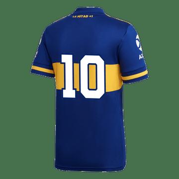Camiseta-Infantil-Titular-de-Juego-Boca-Jrs-20-21-Personalizado-LPF---10