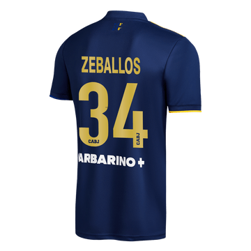 Cuarta-Camiseta-Boca-Jrs-20-21---ADULTO-Personalizado---34-ZEBALLOS
