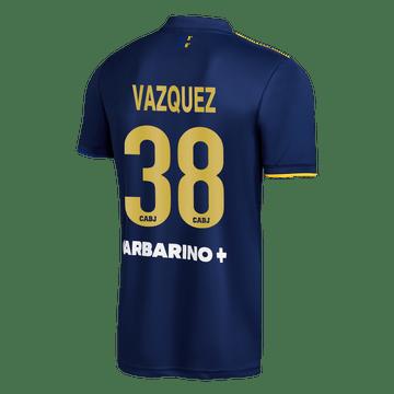 Cuarta-Camiseta-Boca-Jrs-20-21---ADULTO-Personalizado---38-VAZQUEZ