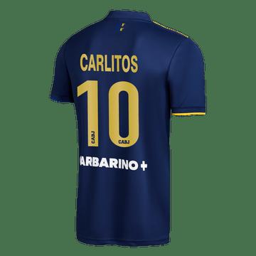 Cuarta-Camiseta-Boca-Jrs-20-21---NIÑO-Personalizado---10-CARLITOS