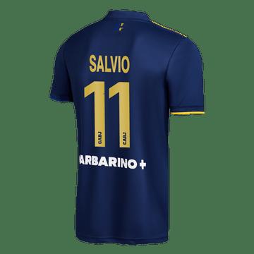Cuarta-Camiseta-Boca-Jrs-20-21---NIÑO-Personalizado---11-SALVIO