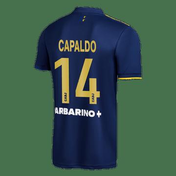 Cuarta-Camiseta-Boca-Jrs-20-21---NIÑO-Personalizado---14-CAPALDO