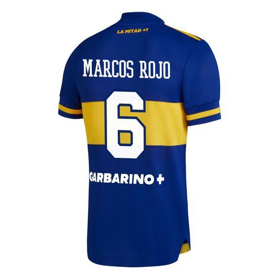 Camiseta-Titular-Boca-Jrs-20-21---HOMBRE-Personalizado---6-MARCOS-ROJO