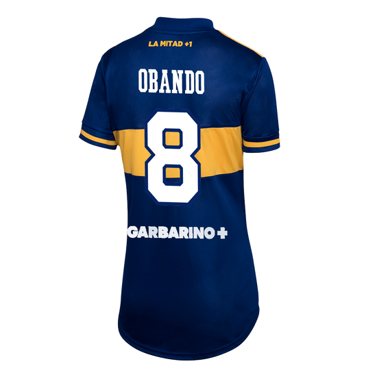 Camiseta-Titular-Boca-Jrs-20-21---MUJER-Personalizado---8-OBANDO