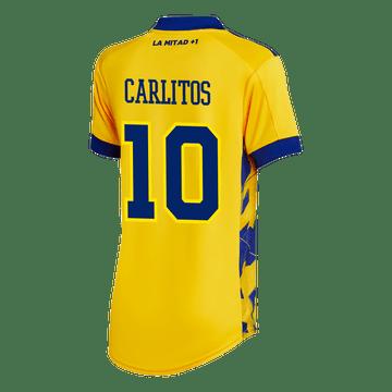 Tercera-Camiseta-Boca-Jrs-20-21---MUJER-Personalizado---10-CARLITOS