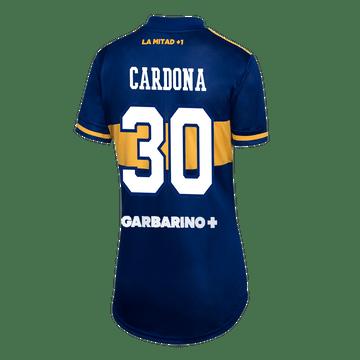 Camiseta-Titular-Boca-Jrs-20-21---MUJER-Personalizado-Copa-Libertadores---30-CARDONA