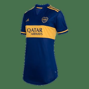 Camiseta-Titular-Boca-Jrs-20-21---MUJER-Personalizado---29-L.-JARA