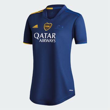 Cuarta-Camiseta-Boca-Jrs-20-21---MUJER-Personalizado---38-VAZQUEZ