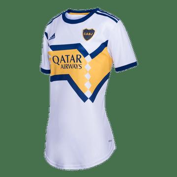 Camiseta-Alternativa-Boca-Jrs-20-21---MUJER-Personalizado---6-MARCOS-ROJO