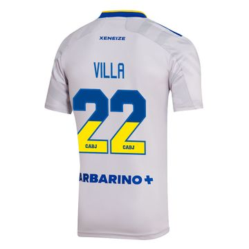 Camiseta-Alternativa-Boca-Jrs-21-22---HOMBRE-personalizado---22-Villa
