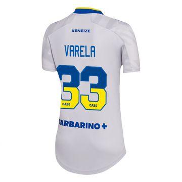 Camiseta-Alternativa-Boca-Jrs-21-22---MUJER-personalizado---33-Varela