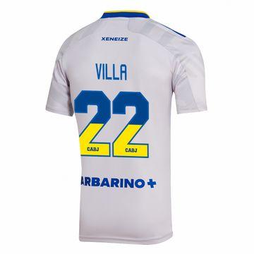 Camiseta-Alternativa-Boca-Jrs-21-22---NIÑO-personalizado---22-Villa